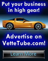 Advertise your business on VetteTube.com!